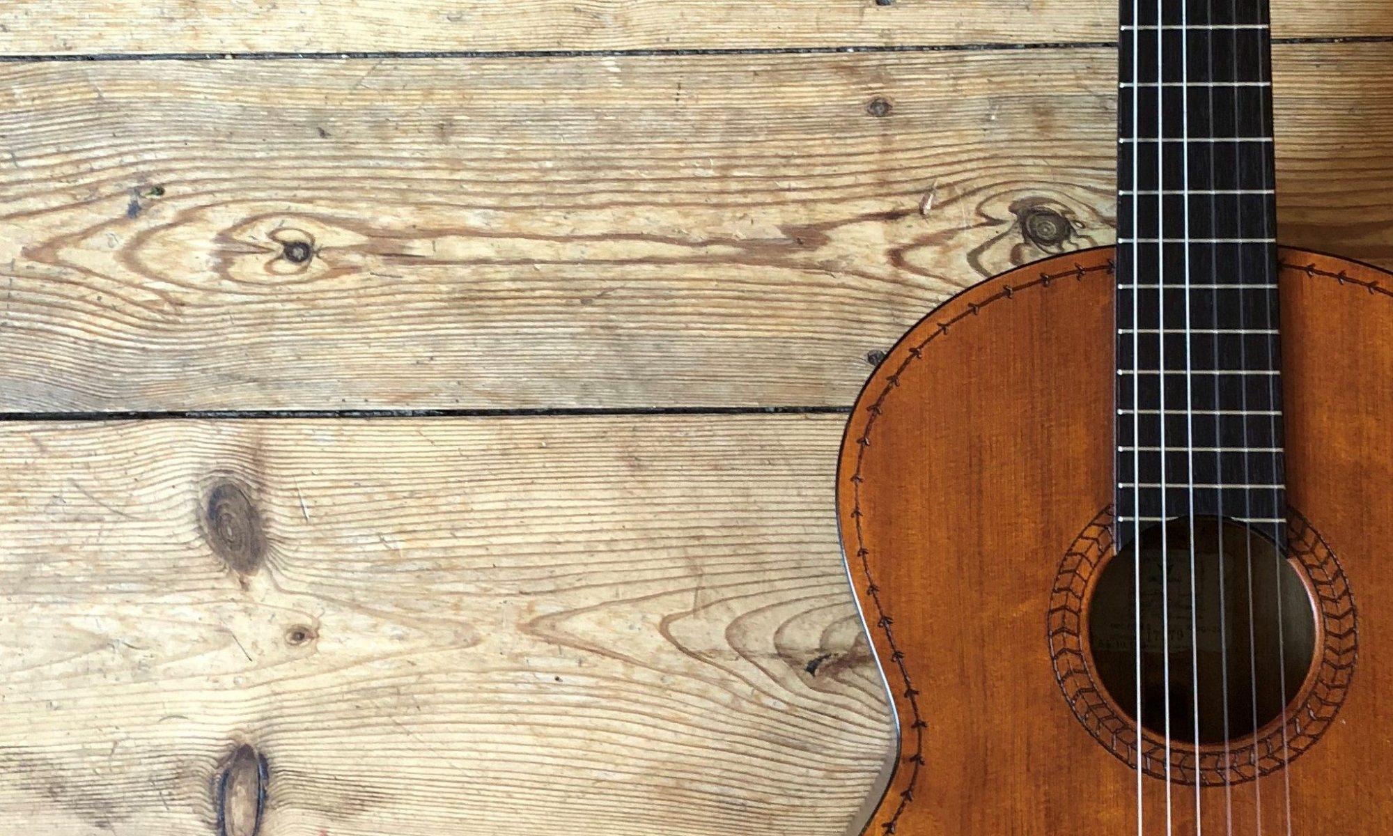 Die alte gitarre